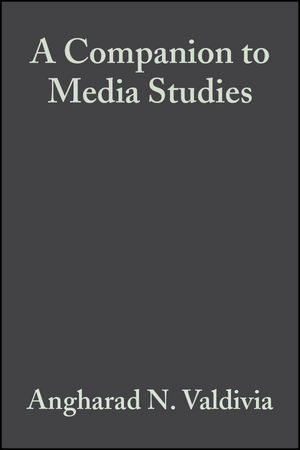 A Companion to Media Studies (1405171952) cover image