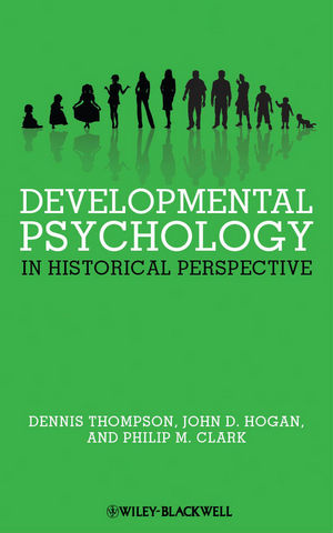 Developmental Psychology in Historical Perspective (1444355252) cover image