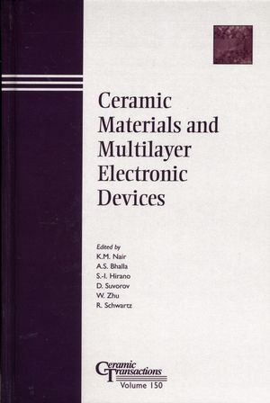 Ceramic Materials and Multilayer Electronic Devices