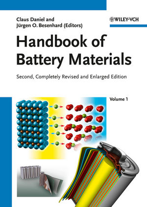 Handbook of Battery Materials, 2nd Edition, 2 Volume Set (3527326952) cover image
