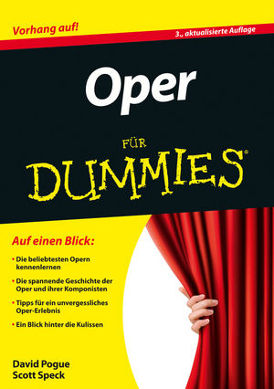 Oper für Dummies, 3rd Edition