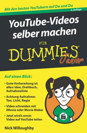 YouTube-Videos selber machen für Dummies Junior, 2. Auflage