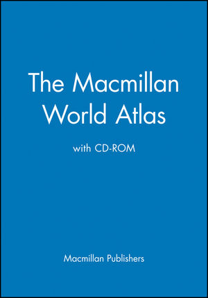The Macmillan World Atlas with CD-ROM (0028614453) cover image