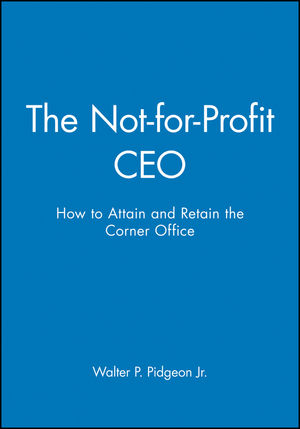 The Not-for-Profit CEO Textbook and Workbook Set (0470050853) cover image
