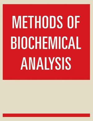 Methods of Biochemical Analysis, Volume 33