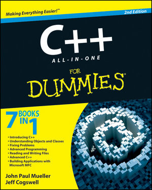C++ All-In-One Desk Reference For Dummies, 2nd Edition (0470317353) cover image