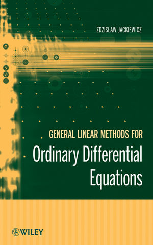 General Linear Methods for Ordinary Differential Equations (0470408553) cover image
