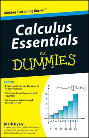 calculus essentials for dummies pdf