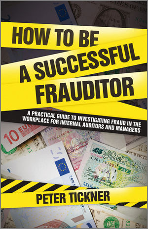 How to be a Successful Frauditor (0470681853) cover image