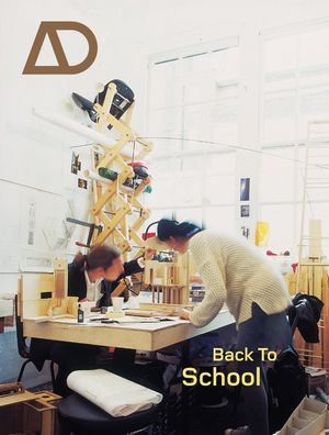 Back to School: Architectural Education - the Information and the Argument