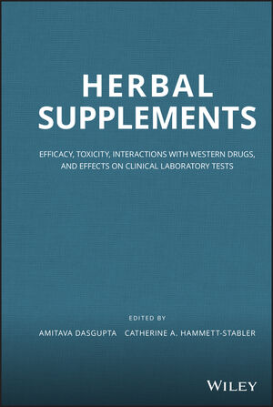 Herbal Supplements: Efficacy, Toxicity, Interactions with Western Drugs, and Effects on Clinical Laboratory Tests (0470922753) cover image