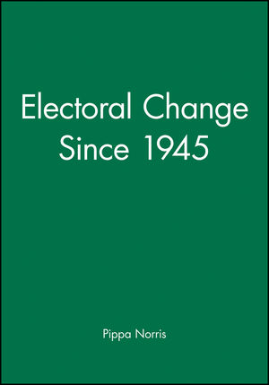 Electoral Change Since 1945 (0631167153) cover image