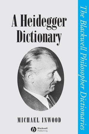 A Heidegger Dictionary (0631190953) cover image