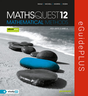 Maths Quest 12 VCE Mathematical Methods eGuidePLUS (Online Purchase)