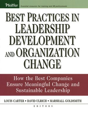 Best Practices in Leadership Development and Organization Change: How the Best Companies Ensure Meaningful Change and Sustainable Leadership