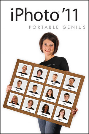 iPhoto 11 Portable Genius, 2nd Edition (1118058453) cover image