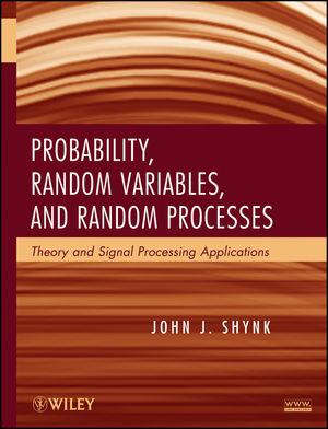 Probability, Random Variables, and Random Processes: Theory and Signal Processing Applications (1118393953) cover image