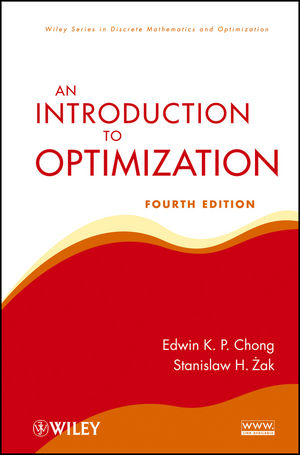 An Introduction to Optimization, 4th Edition (1118515153) cover image