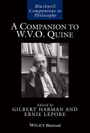 A Companion to W. V. O. Quine (1118607953) cover image