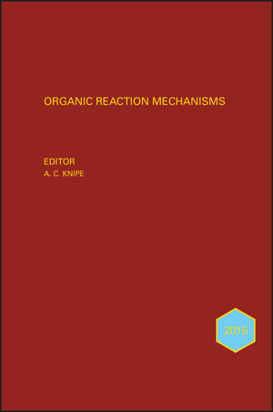 Organic Reaction Mechanisms 2013: An annual survey covering the literature dated January to December 2013 (1118707753) cover image