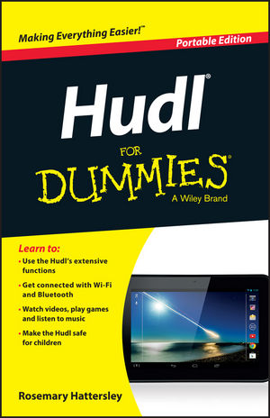 Hudl For Dummies, Portable Edition (1118901053) cover image