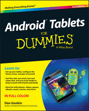 Android Tablets For Dummies, 3rd Edition (1119126053) cover image