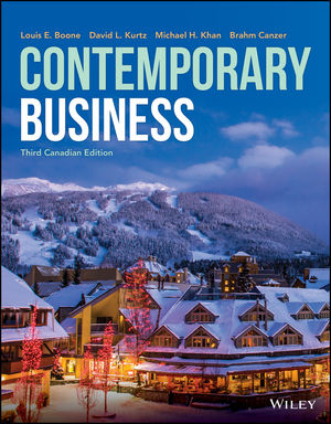 Contemporary Business, 3rd Canadian Edition