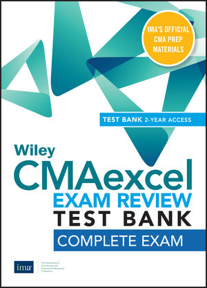 Wiley CMAexcel Learning System Exam Review 2020 Test Bank: Complete Exam (2-year access)