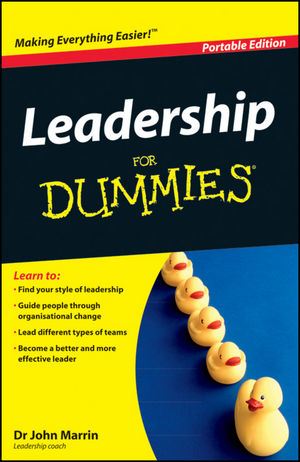 Leadership For Dummies, WHS Travel Edition