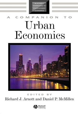 A Companion to Urban Economics (1405178353) cover image