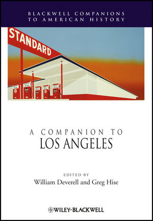 A Companion to Los Angeles (1444390953) cover image