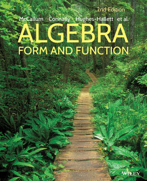 Wiley: Algebra: Form and Function, 2nd Edition - William G ...