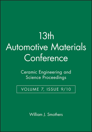 13th Automotive Materials Conference, Volume 7, Issue 9/10