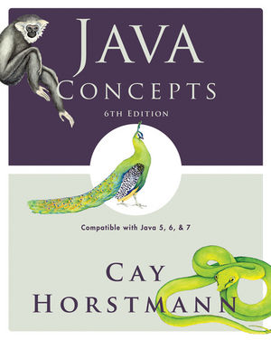 Java Concepts: Compatible with Java 5, 6 and 7, 6th Edition (0470574054) cover image
