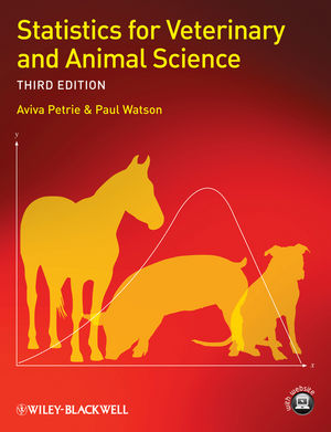 Book Cover Image for Statistics for Veterinary and Animal Science, 3rd Edition