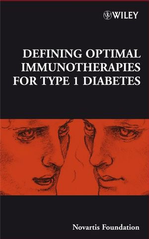 Defining Optimal Immunotherapies for Type 1 Diabetes (0470723254) cover image