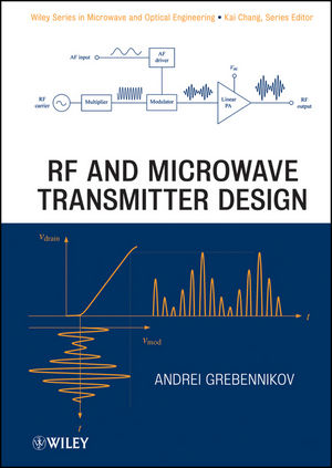 RF and Microwave Transmitter Design (0470934654) cover image