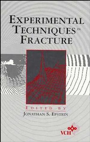 Experimental Techniques in Fracture (0471188654) cover image