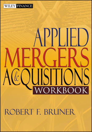 Applied Mergers and Acquisitions Workbook (0471395854) cover image