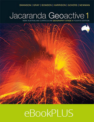 Geoactive 1 NSW Australian Curriculum Edition Stage 4 eBookPLUS (Online Purchase)