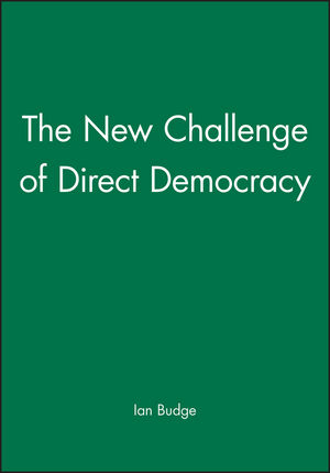 The New Challenge of Direct Democracy (0745617654) cover image