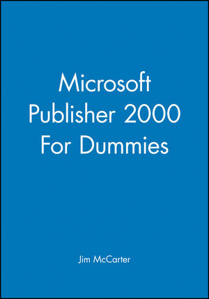 Microsoft Publisher 2000 For Dummies (0764505254) cover image