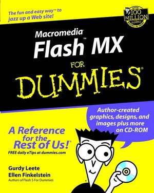 Macromedia Flash MX For Dummies (0764508954) cover image