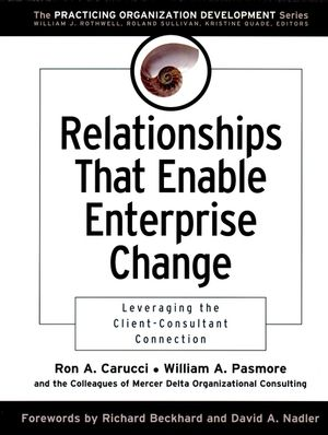 Relationships That Enable Enterprise Change: Leveraging the Client-Consultant Connection (0787967254) cover image