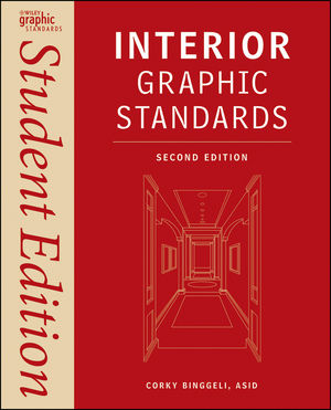 Interior Graphic Standards: Student Edition, 2nd Edition (1118099354) cover image