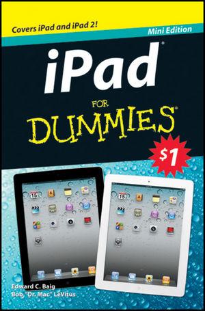 iPad For Dummies: $1 Mini Book, Australian Edition
