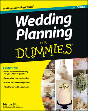 Wedding Planning For Dummies 3rd Edition
