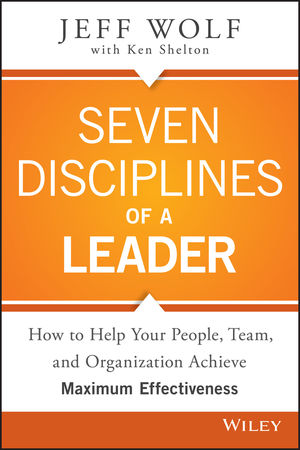 Seven Disciplines of A Leader (1119003954) cover image