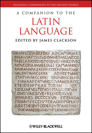 A Companion to the Latin Language (1405186054) cover image