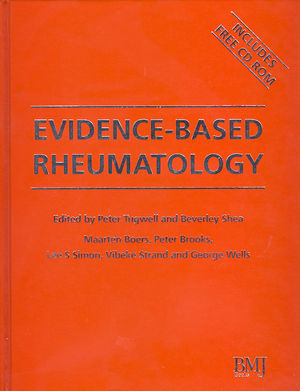Evidence-Based Rheumatology (1444315854) cover image
